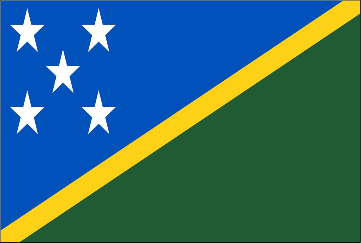 37 Solomon Islands
