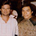 Carter Wong and Kurt Russell