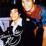 Carter Wong and Bruce Lee