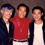 Carter Wong and Jet Lee and Yuen Wah